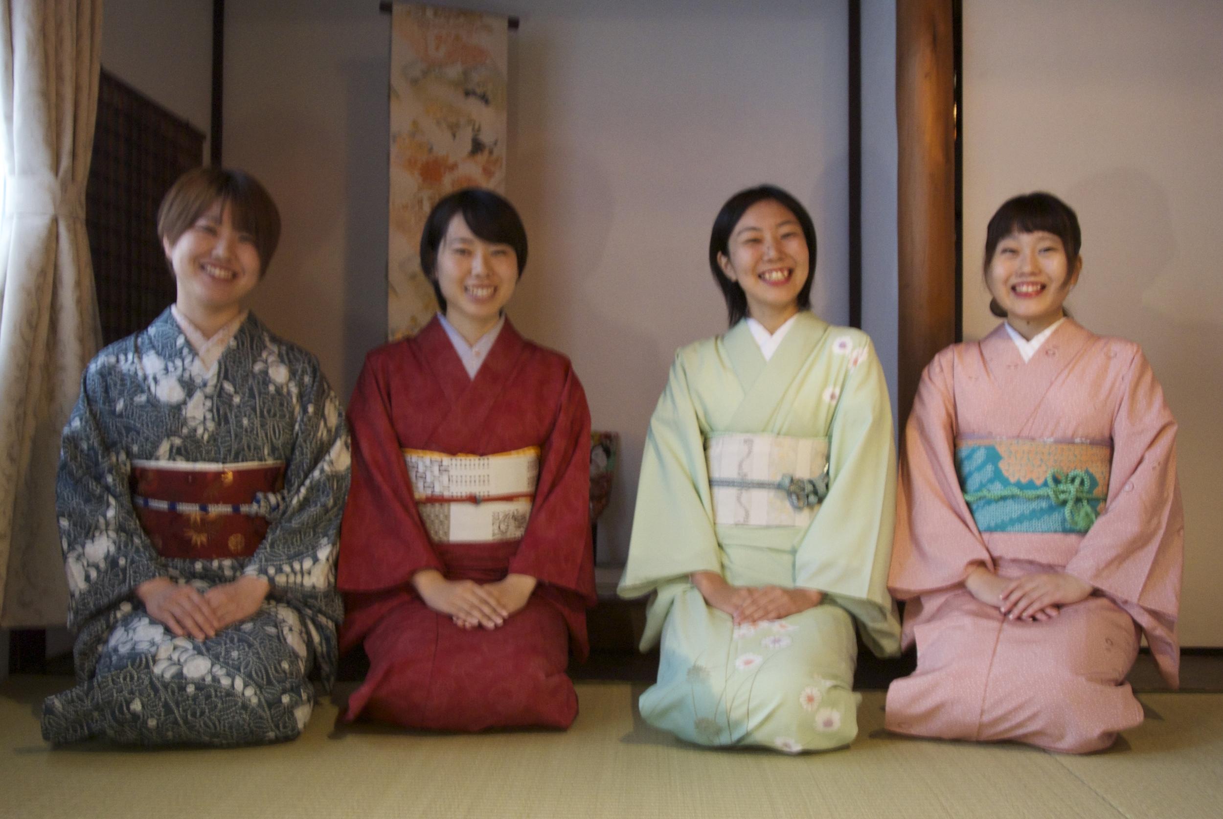大学生4人組 徳島県より