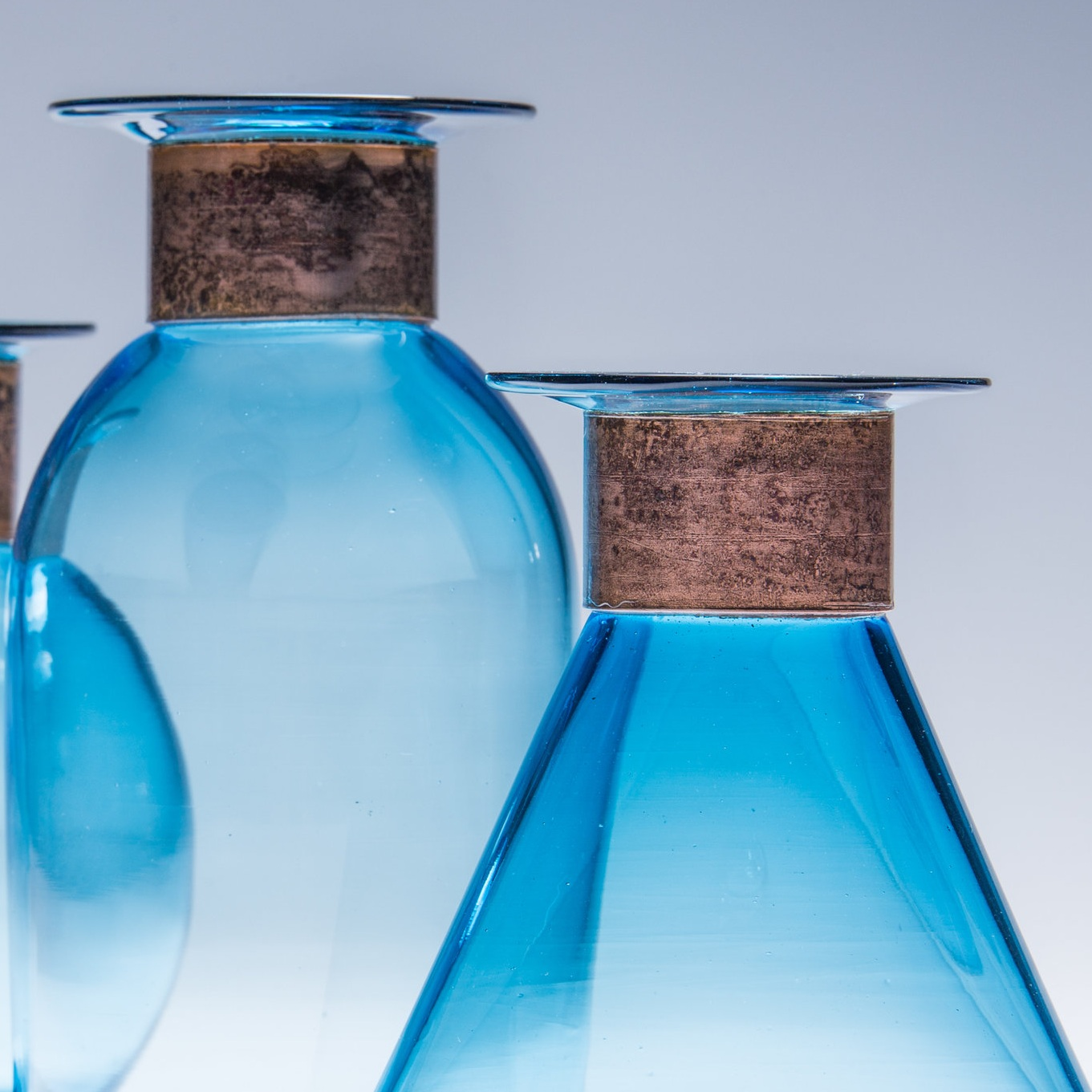 Glass + Copper -