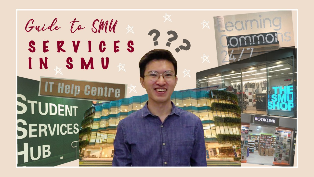 Guide to SMU: Services in SMU - Unsure of the different student services on campus? Fret not, let Jia Ze bring you on a quick journey around our SMU city campus. For sure, this will improve your student experience in SMU!Click here to watch our video!
