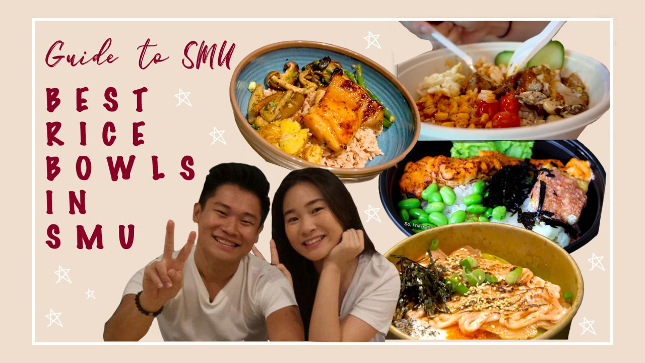 Guide to SMU: Best Rice Bowls in SMU - Can't think of anything to eat on campus? Want something to fill your tummies during your lunch break? This guide will let you know about some of the best rice bowls in SMU at an affordable price!Click here to watch our video!