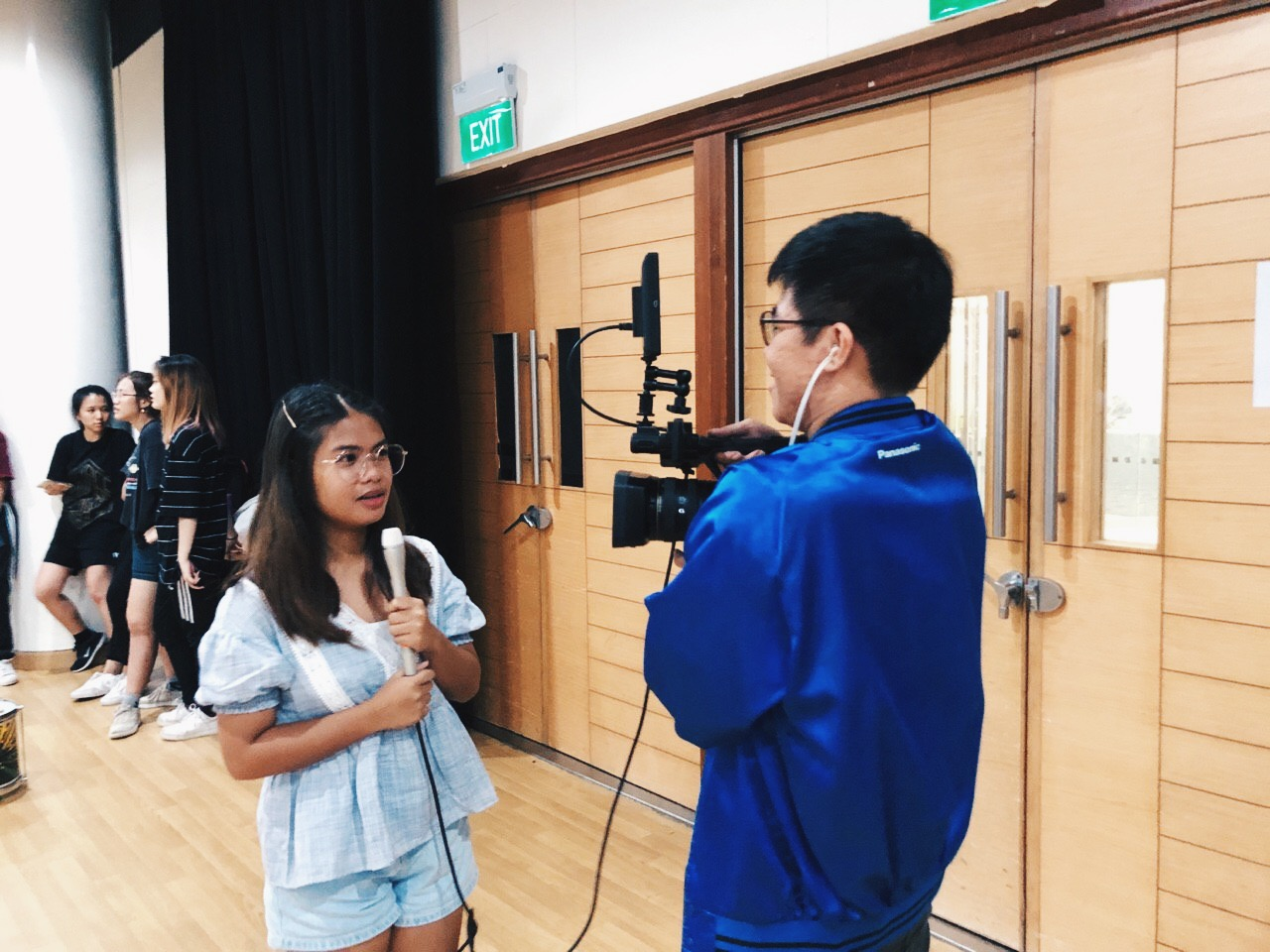 CAMPUS TV (CTV)  is an in-house student production unit that develops and produces original video content, with the aim of entertaining and informing our school community.