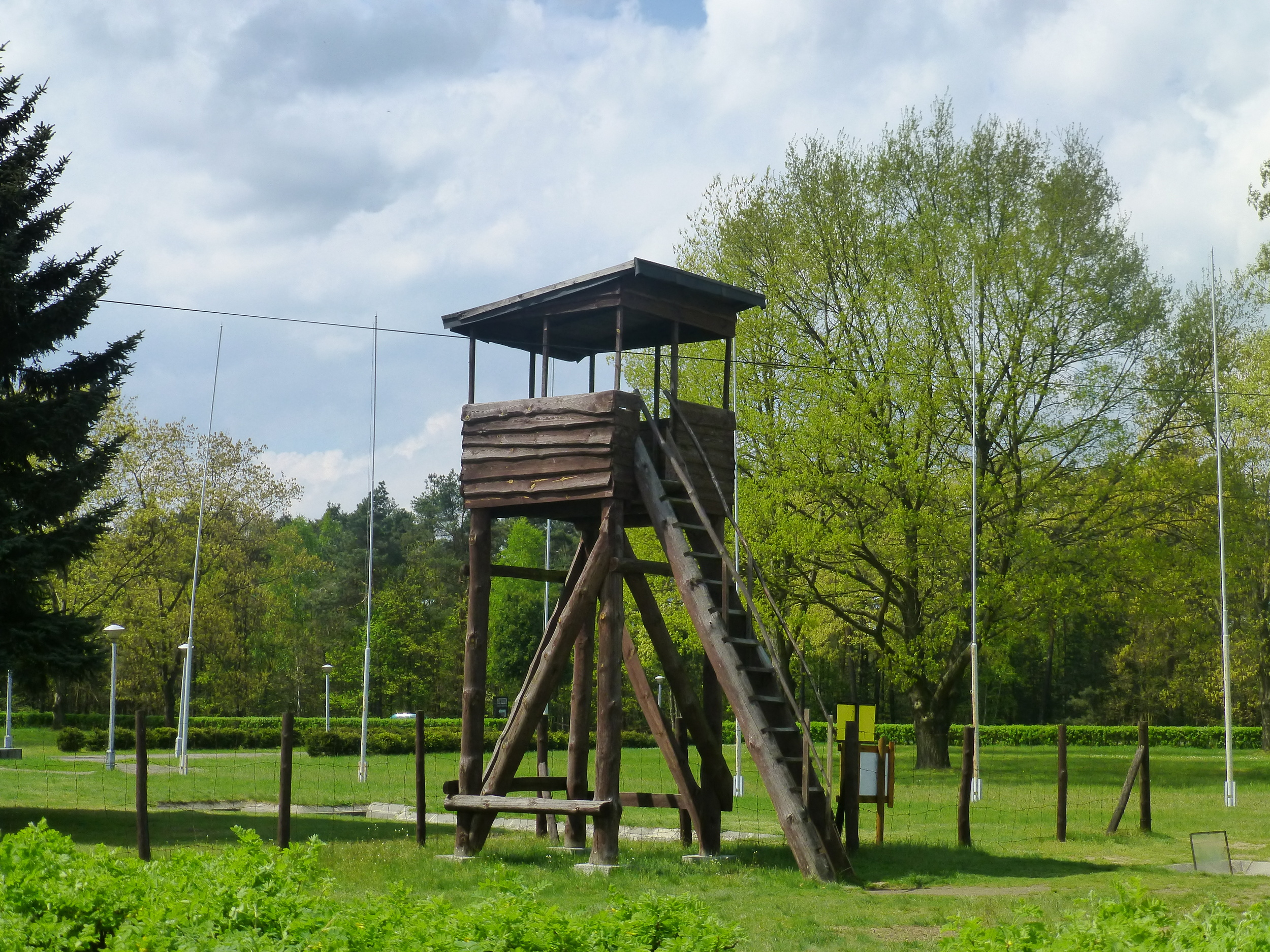 RECREATED GUARD TOWER