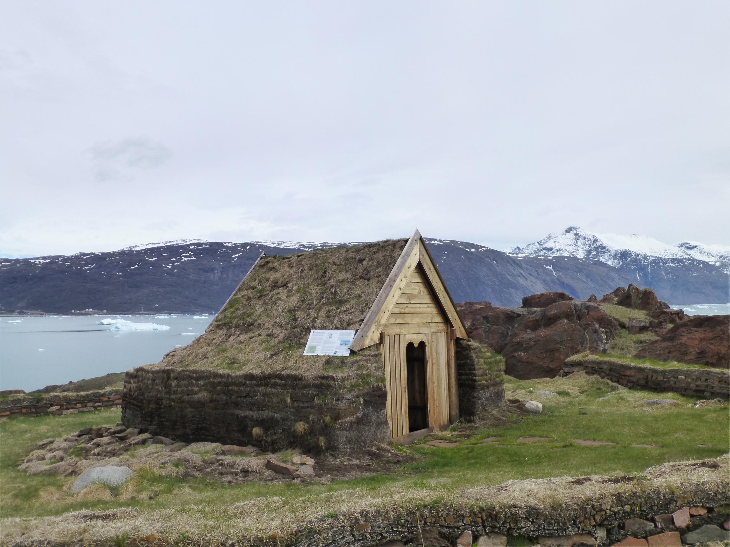 Recreated Viking Church at Qassiarsuk
