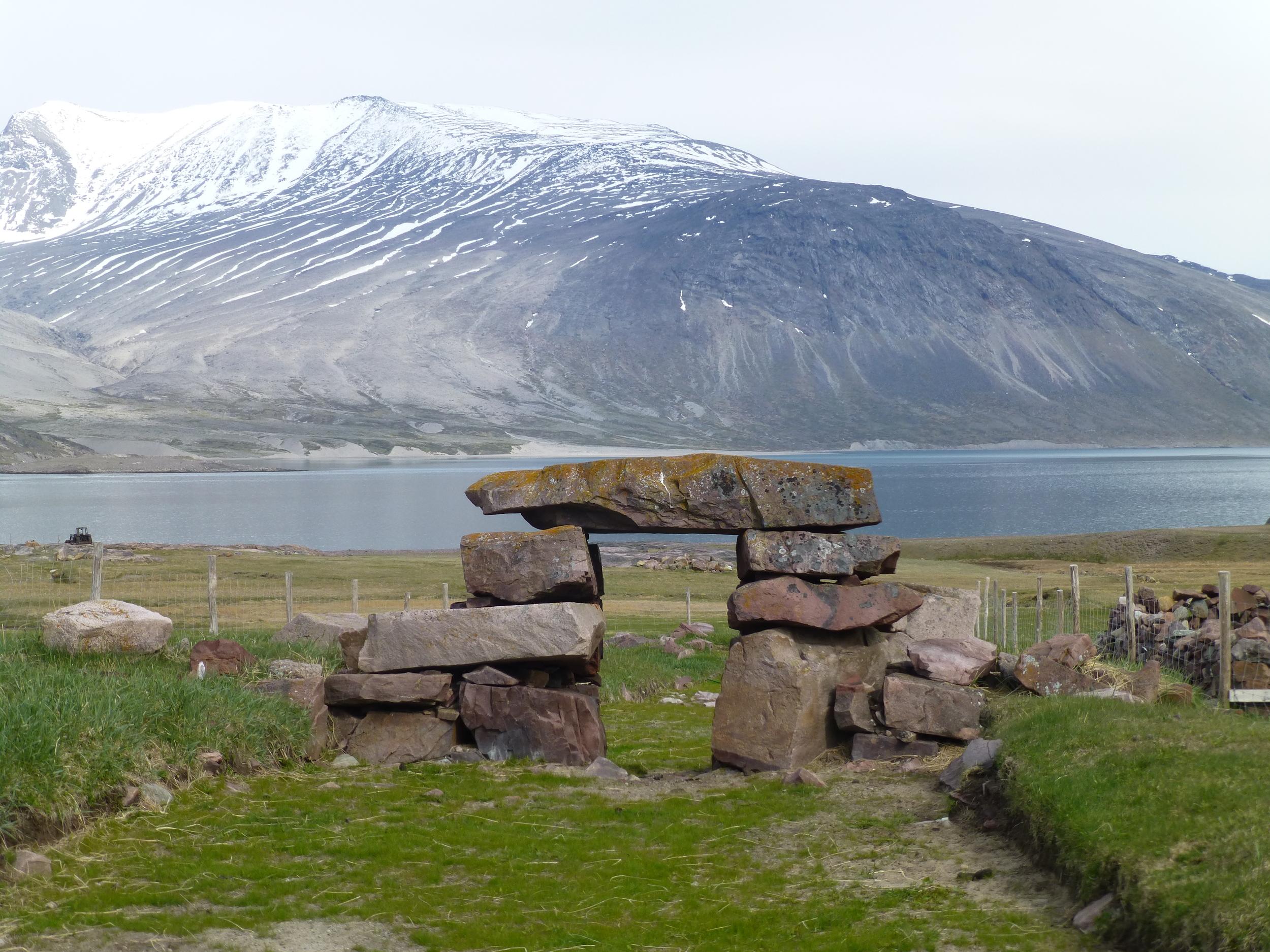 Viking ruins, Igaliku