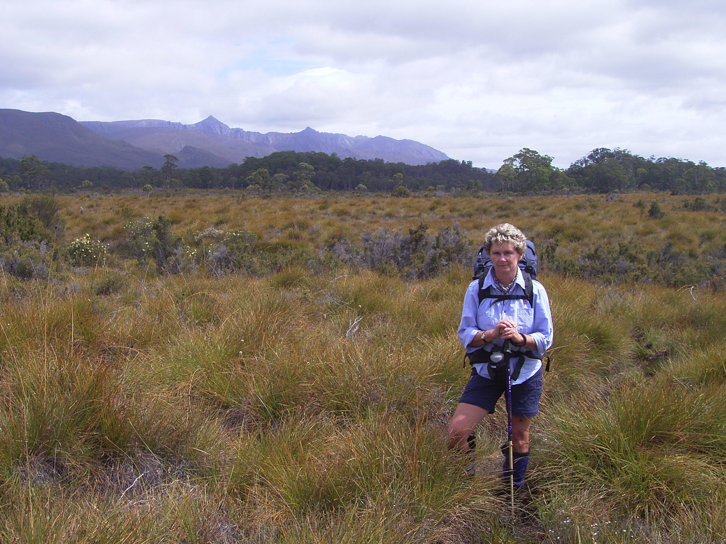 The vale of rasselas track heading to lake rhona