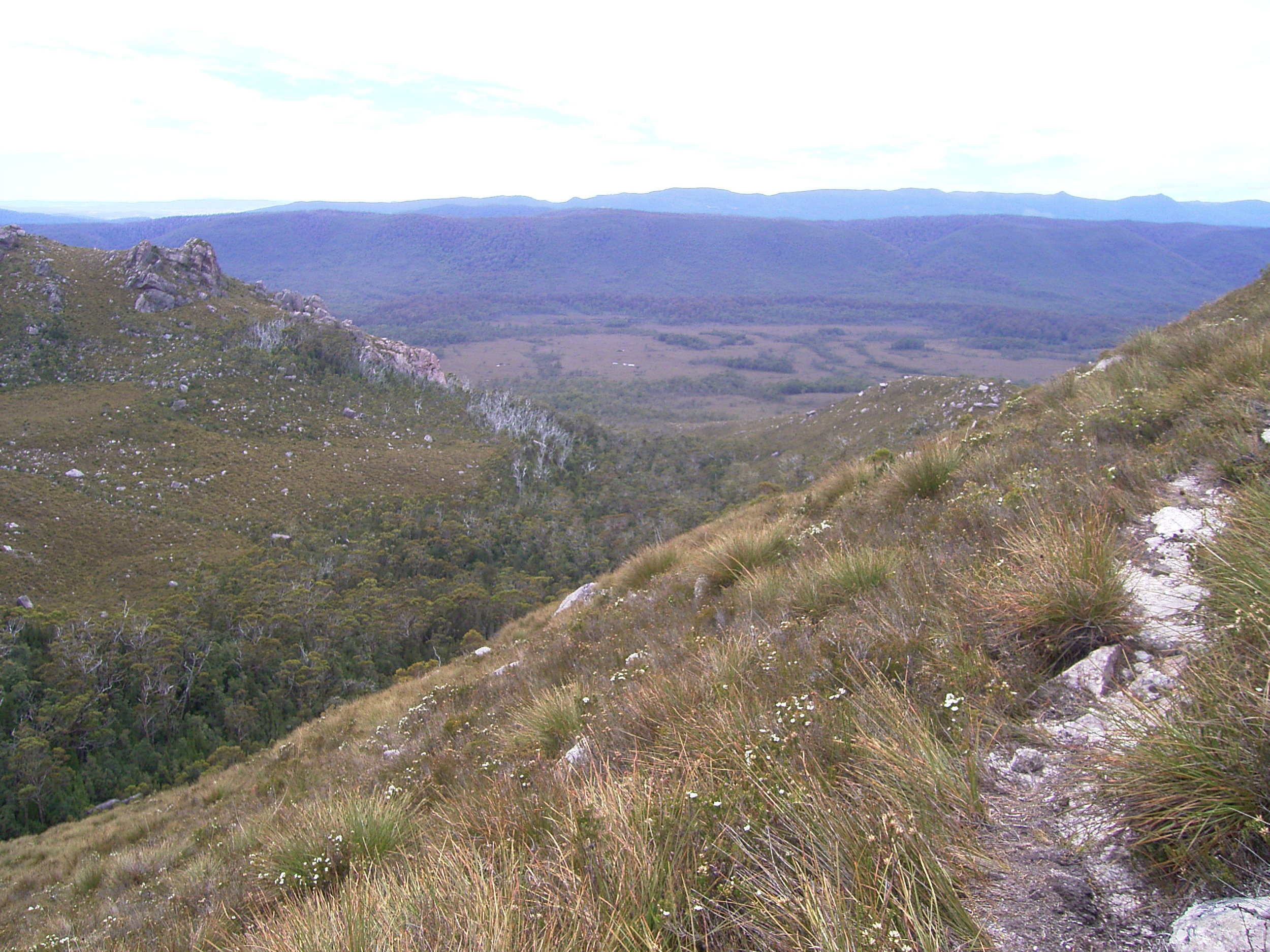 LOOKING DOWN AT THE VALE OF RASSELAS
