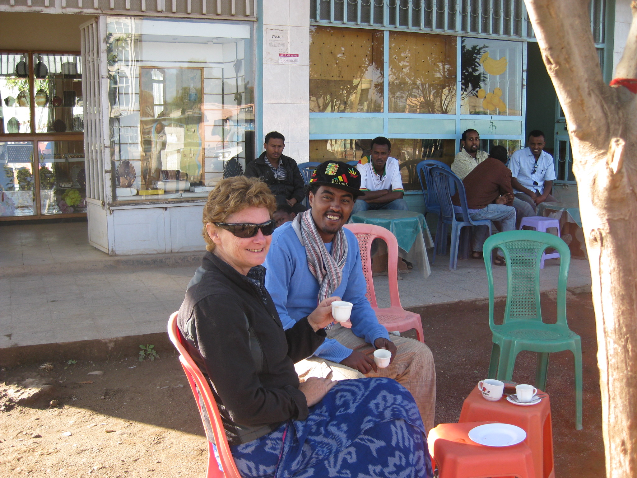Coffee Break, Cally and Eskedar