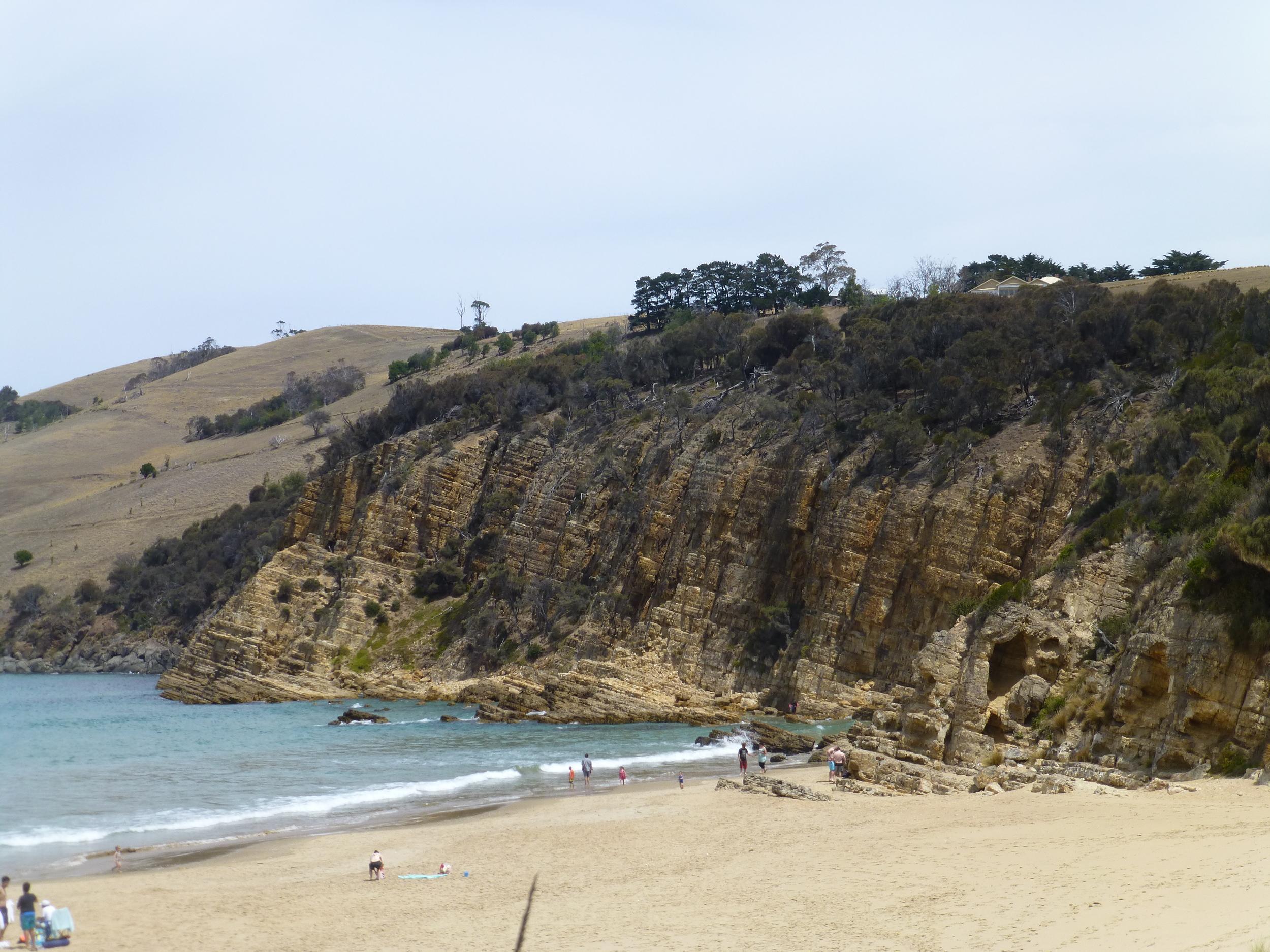 Clifton beach western end