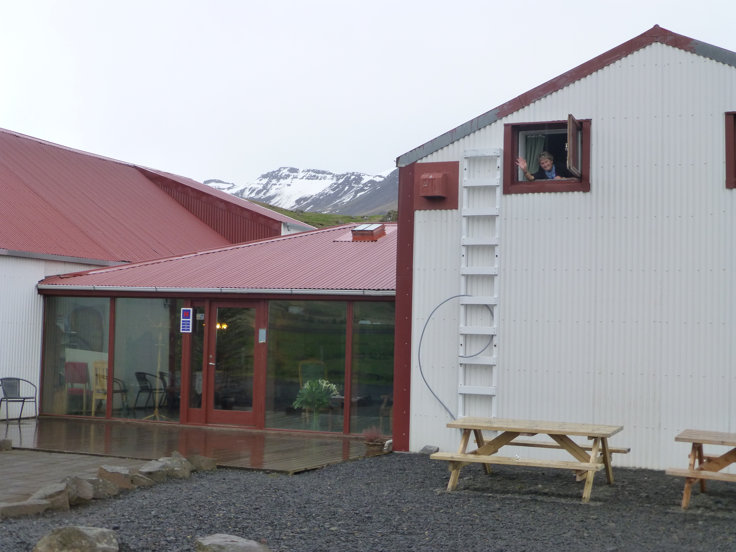 our accommodation first night out of reykjavik