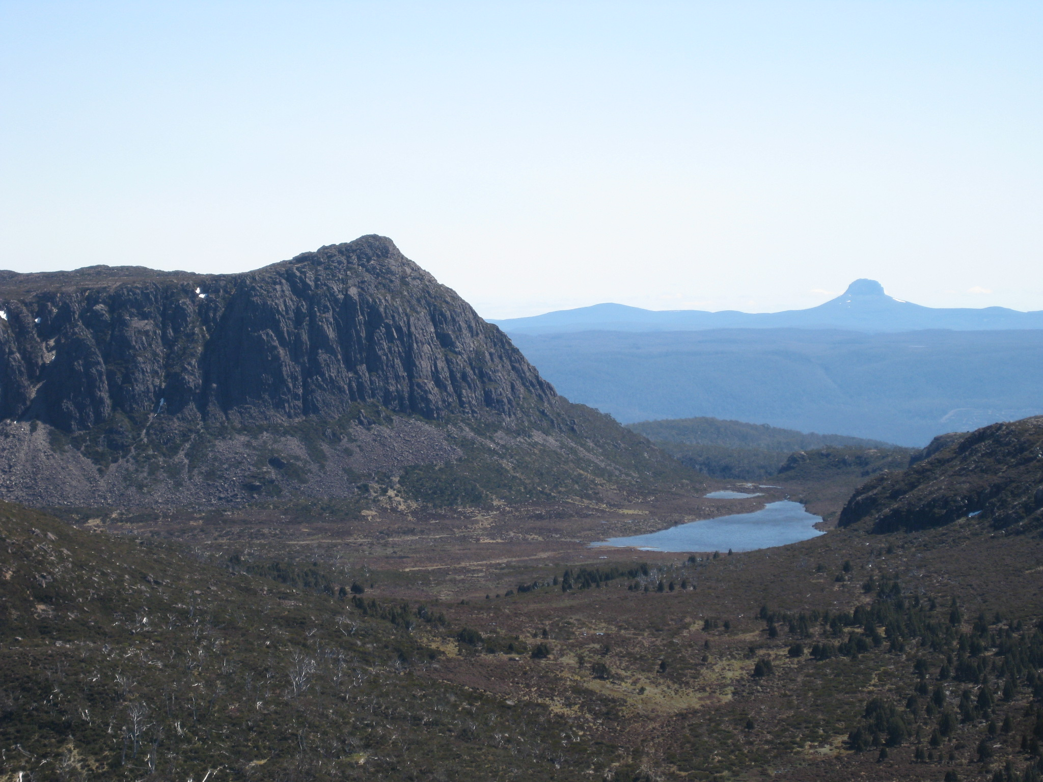 king davids peak and lake Salome from mount jerusalem