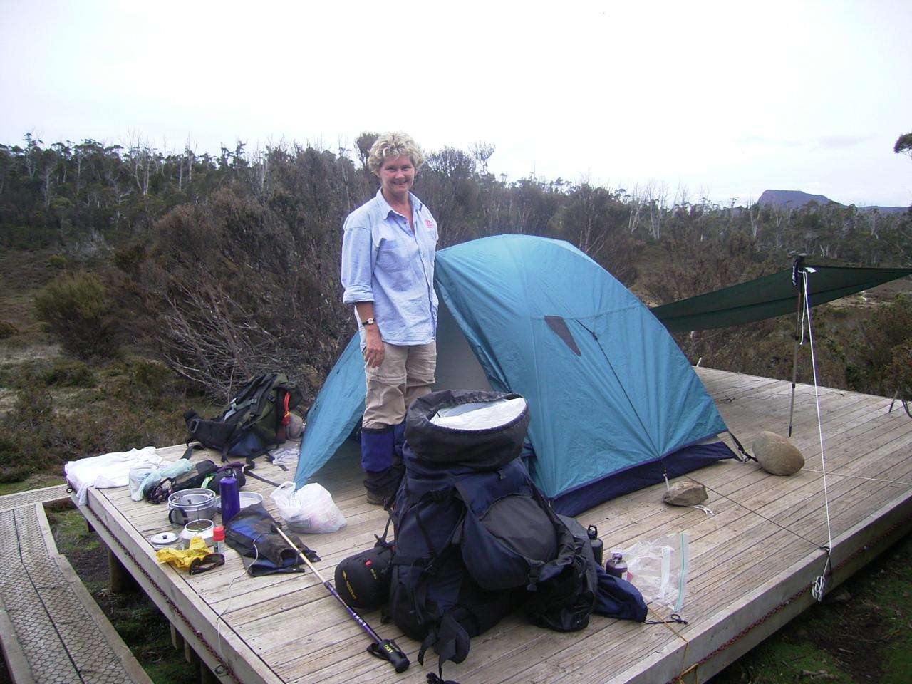 camping platform wild dog creek