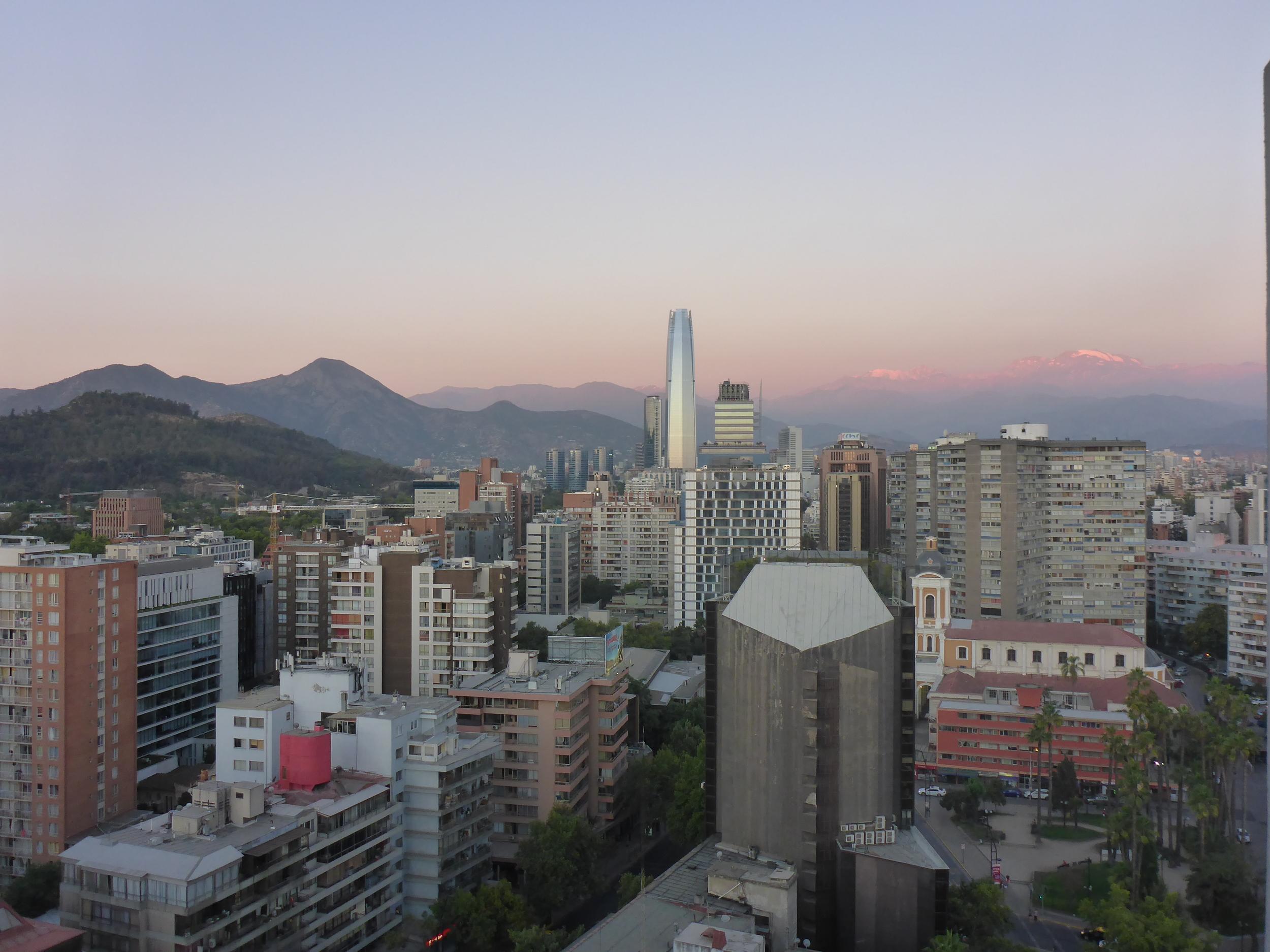 Sunset Santiago