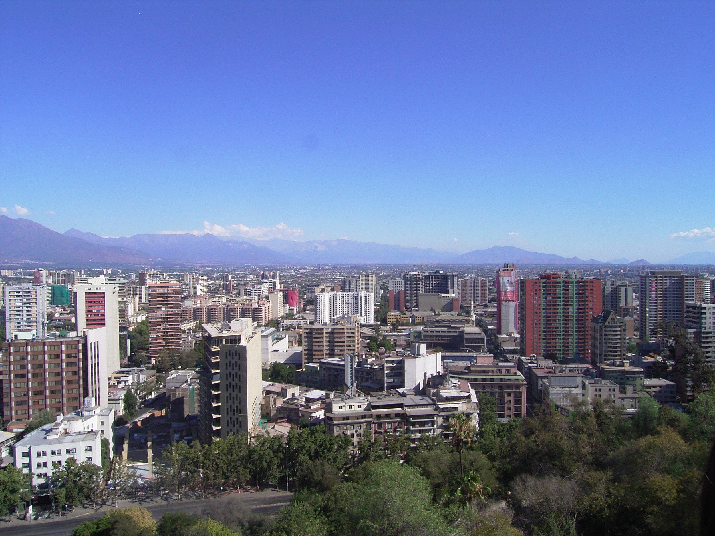 The View from Cerro Santa Lucia