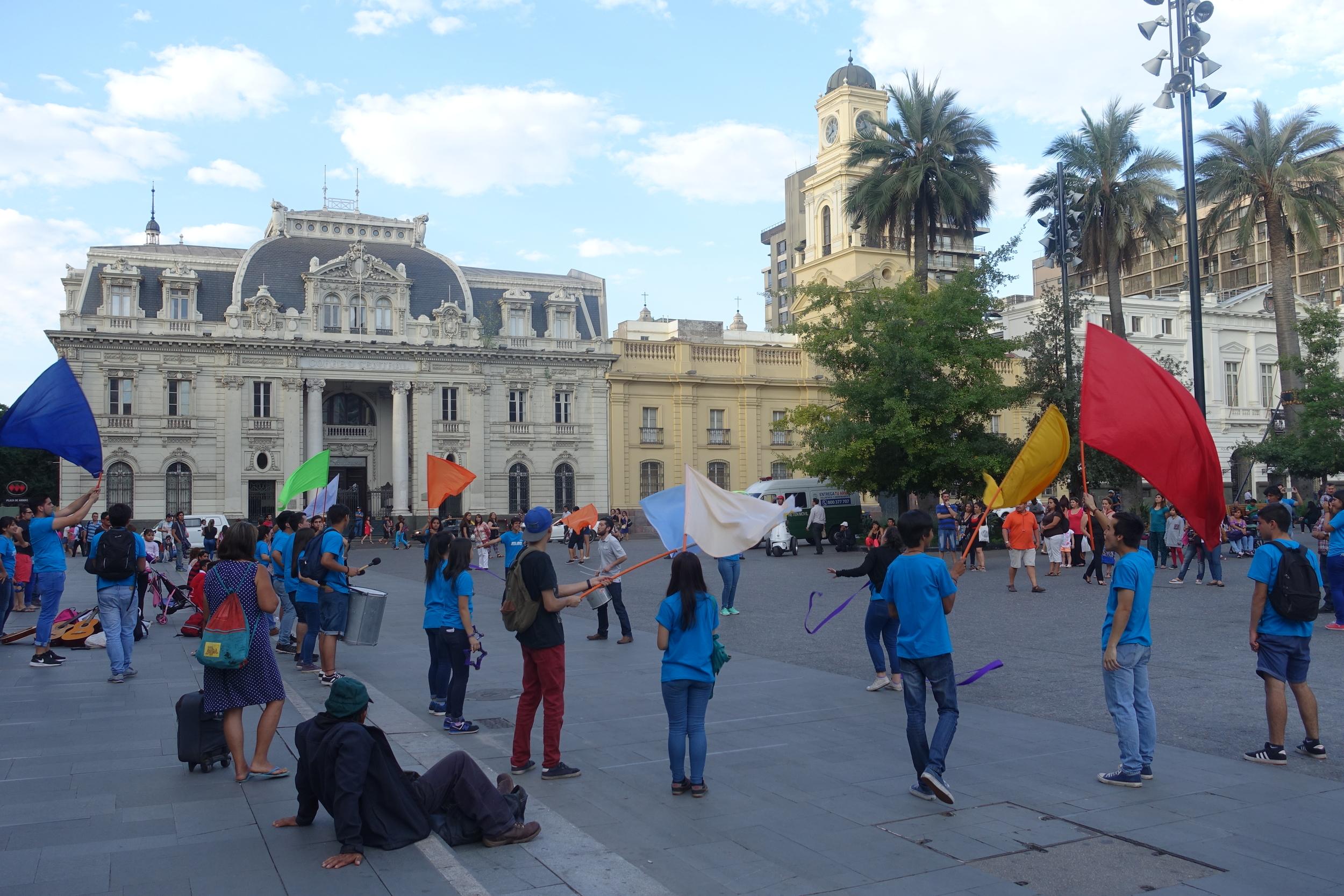 Street Performers - Plaza de Armas