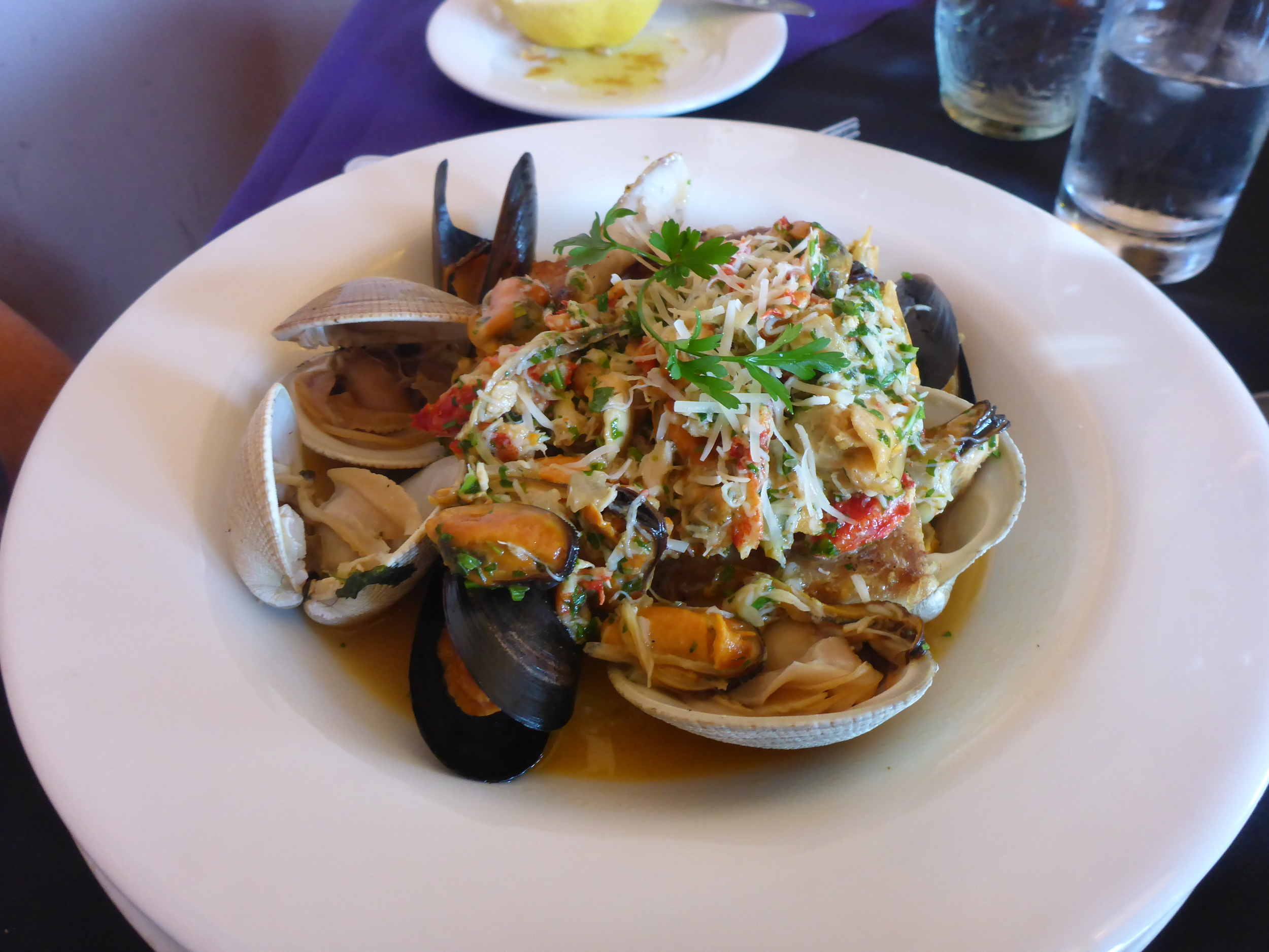 Puerto Montt seafood - yum!