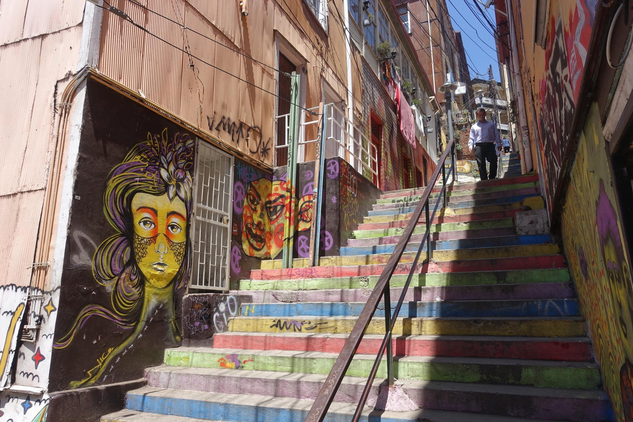 Street Mural - Vaparaiso
