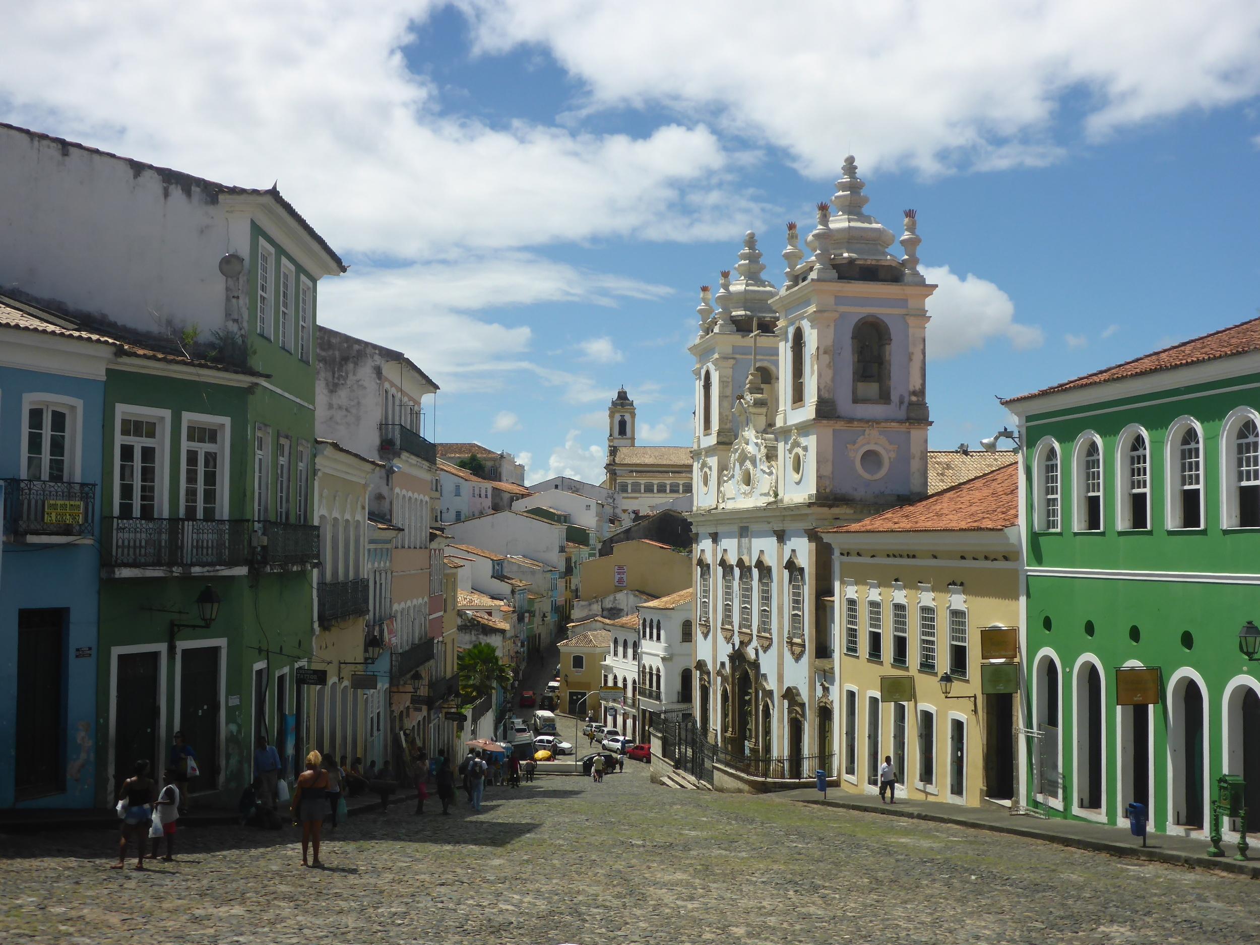 largo do Pelourinho - the site of the original Pelourinho (whipping post)