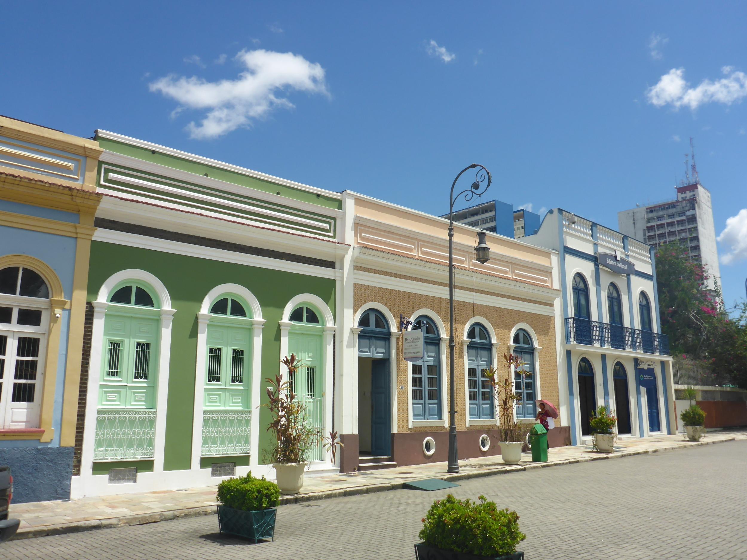 colonial buildings Manaus