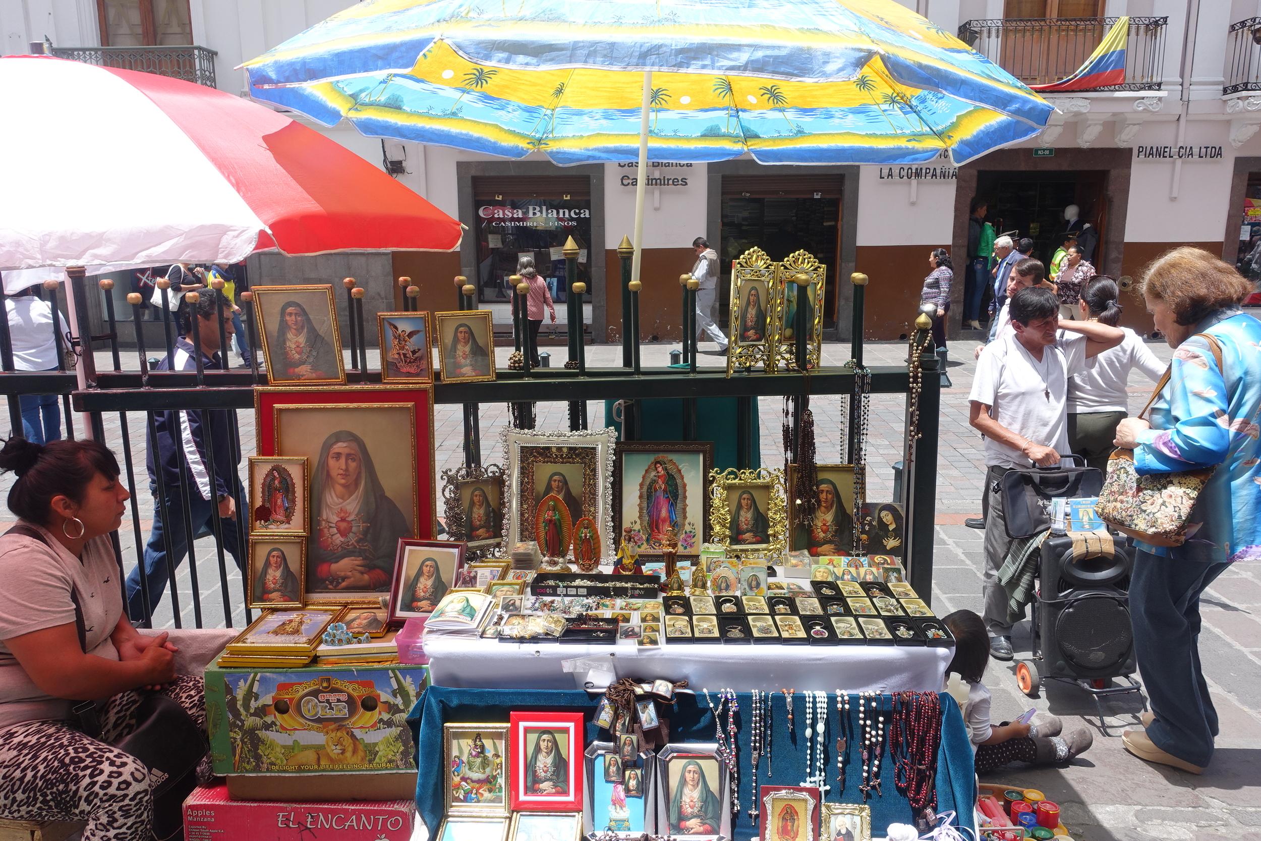 ECUADOR IS A devout CATHOLIC COUNTRY.