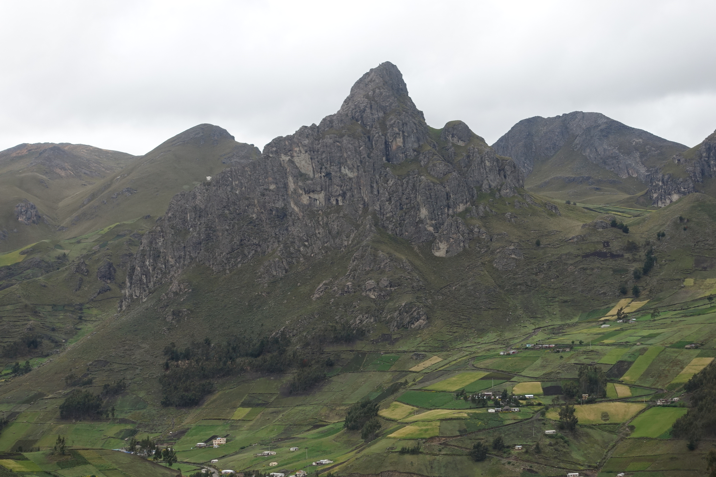 on the (GOOD) ROAD TO QUILOTOA