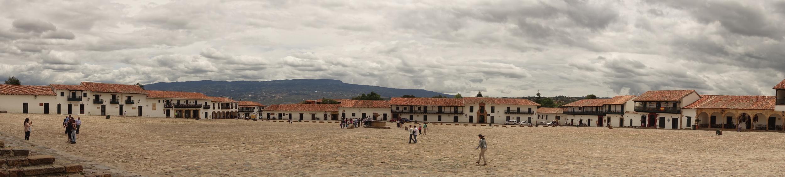 villa de leyva, central plaza