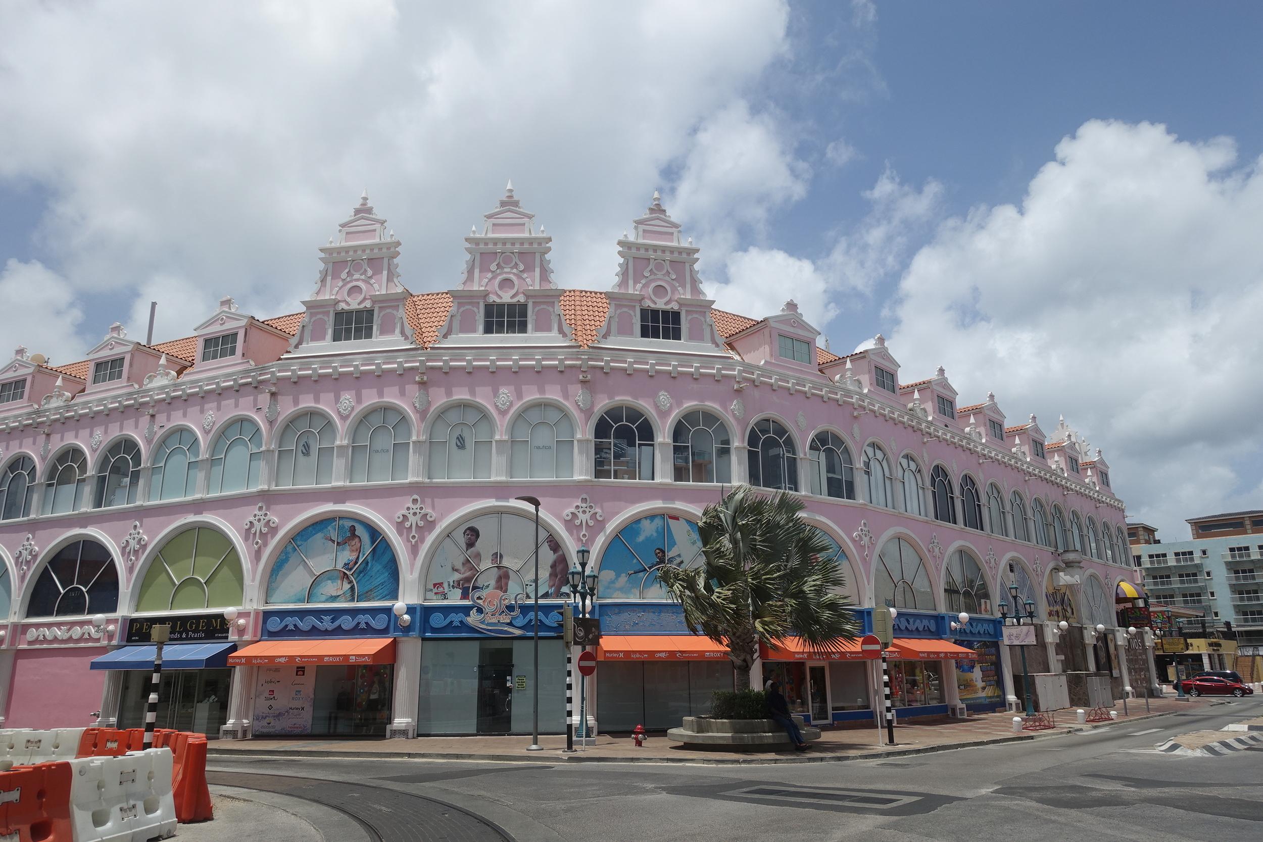 dutch colonial architecture, oranjestad