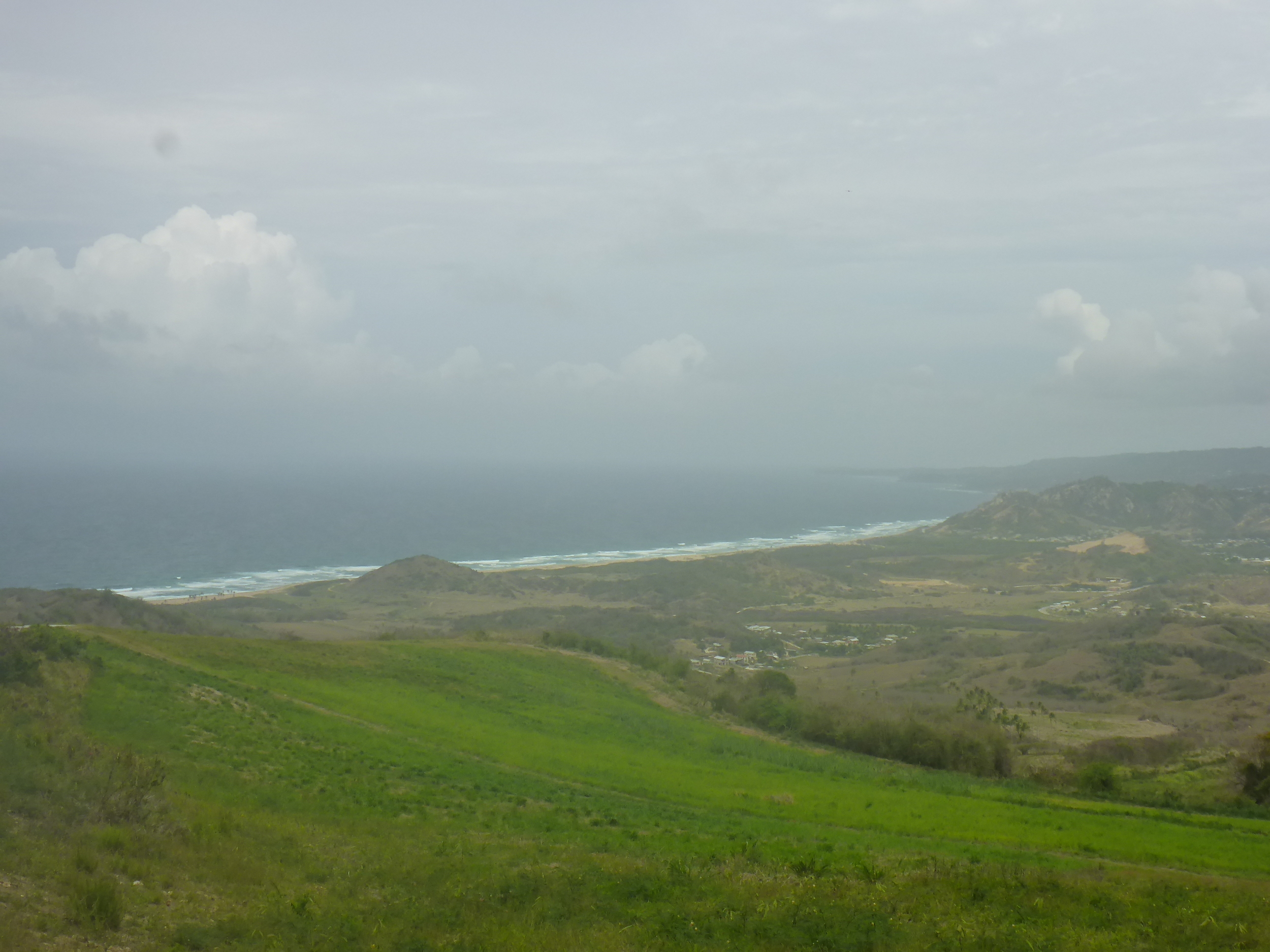 east coast of barbados from cherry tree hill
