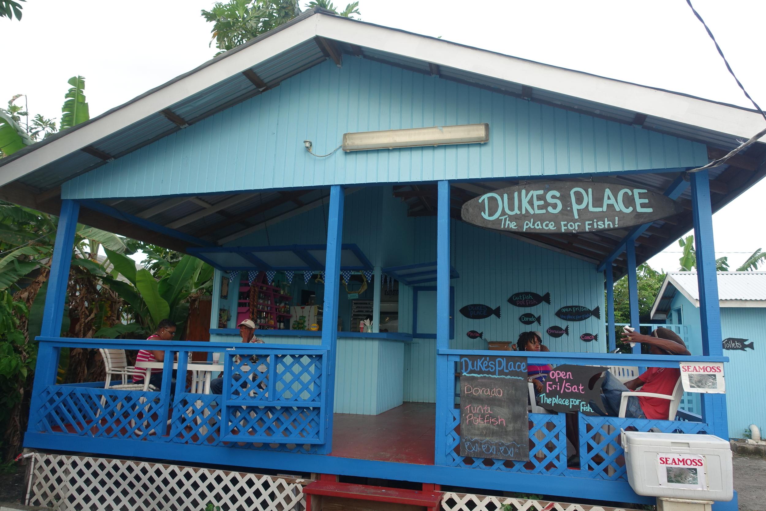 duke's at gros islet