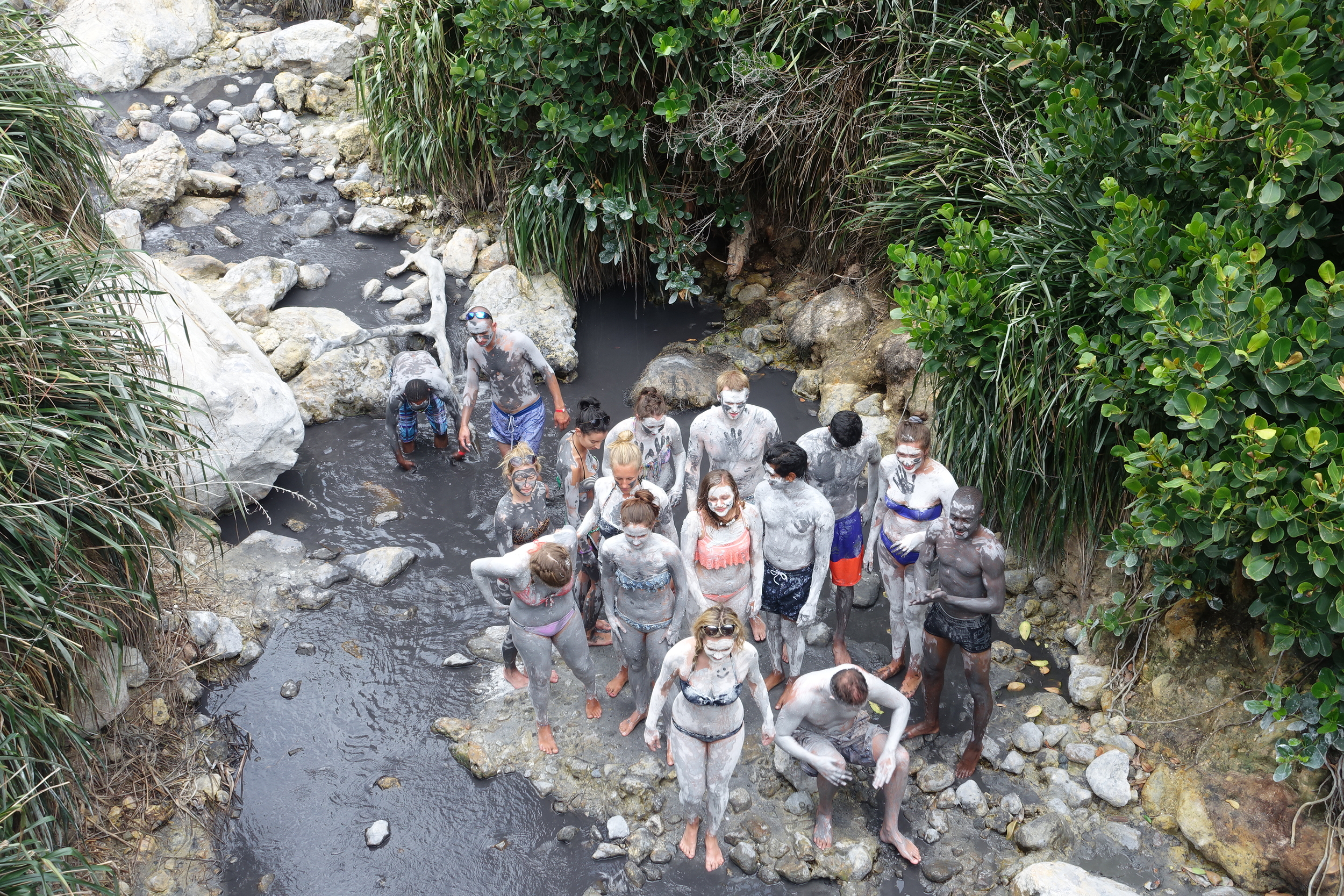 mud bathers - they paid extra for this.