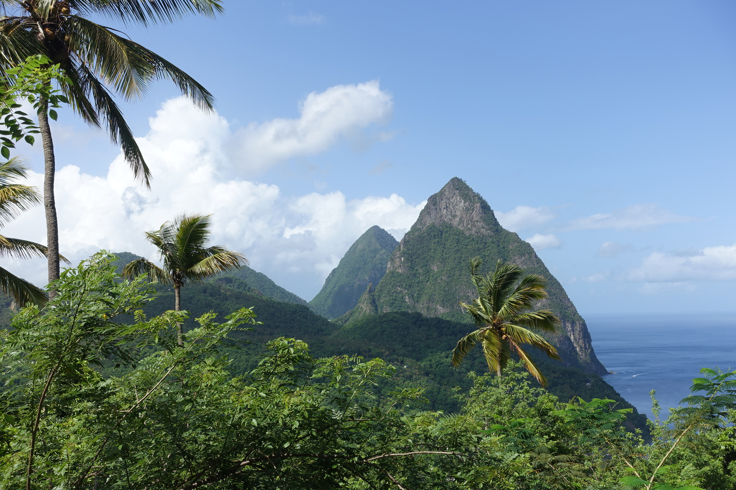 view on the drive from Castries to soufriere