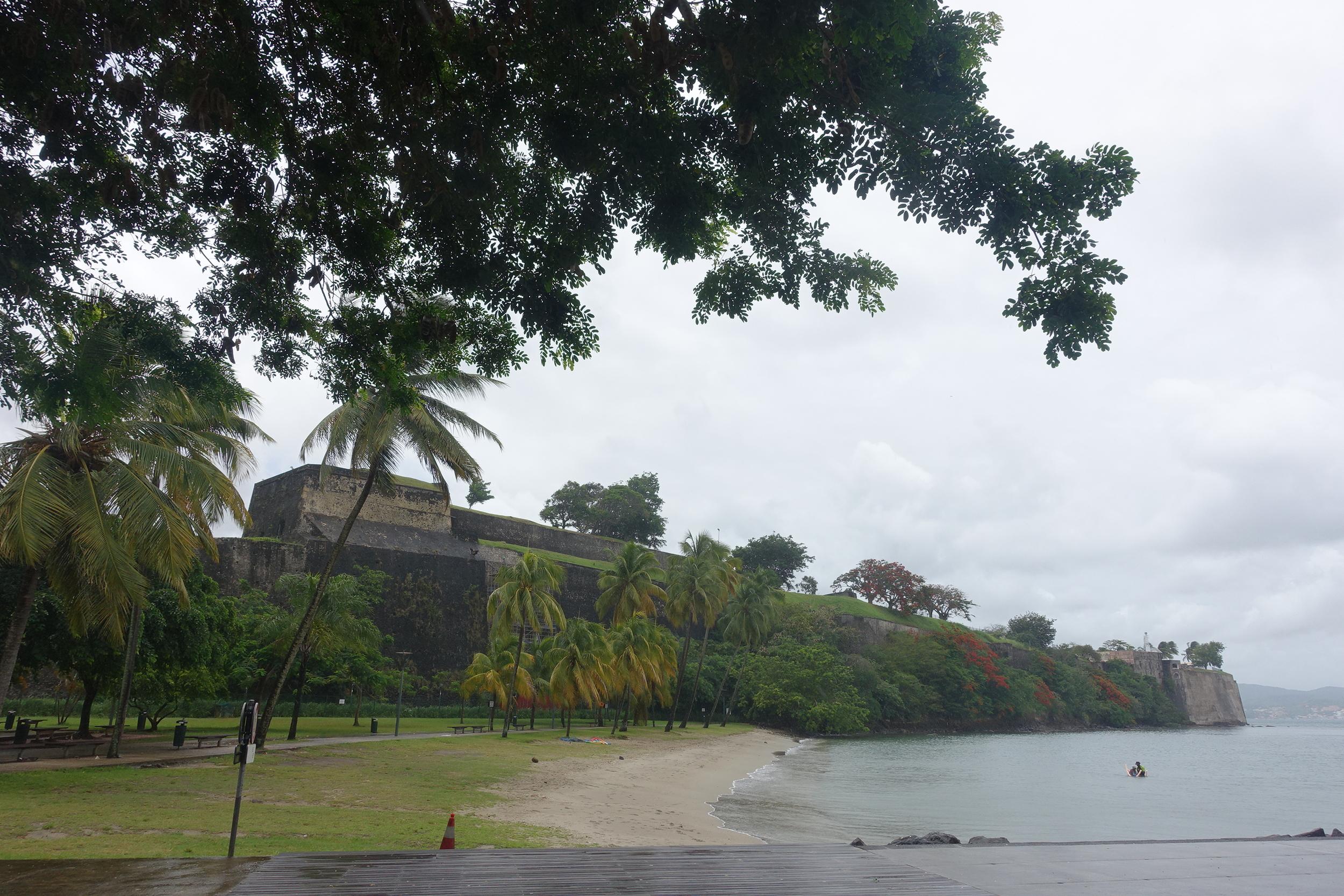 the fort at fort de france