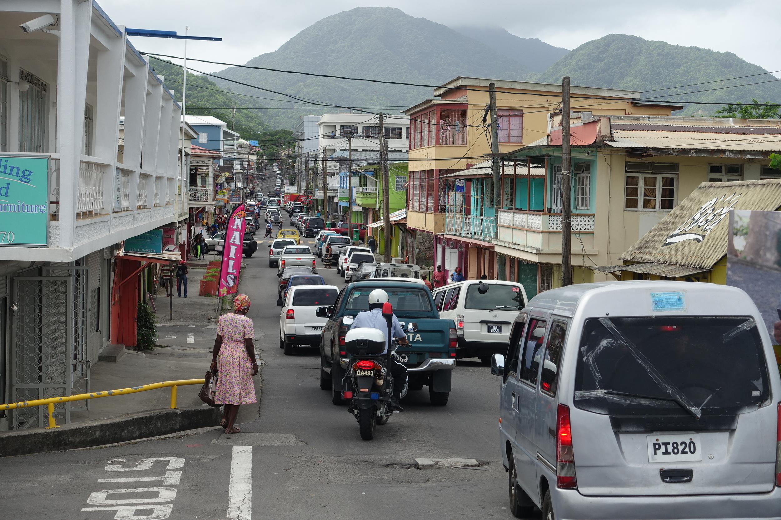 main street of roseau
