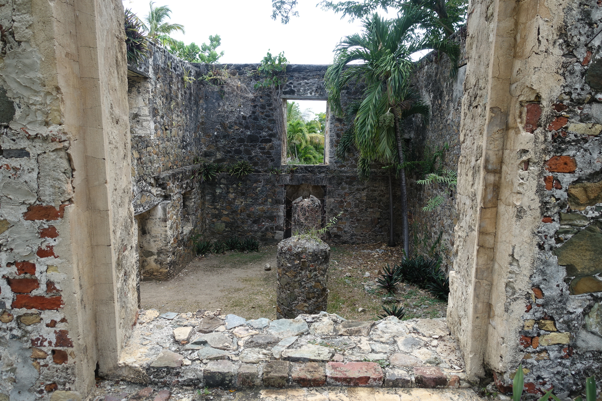 remnants from the old sugar plantation