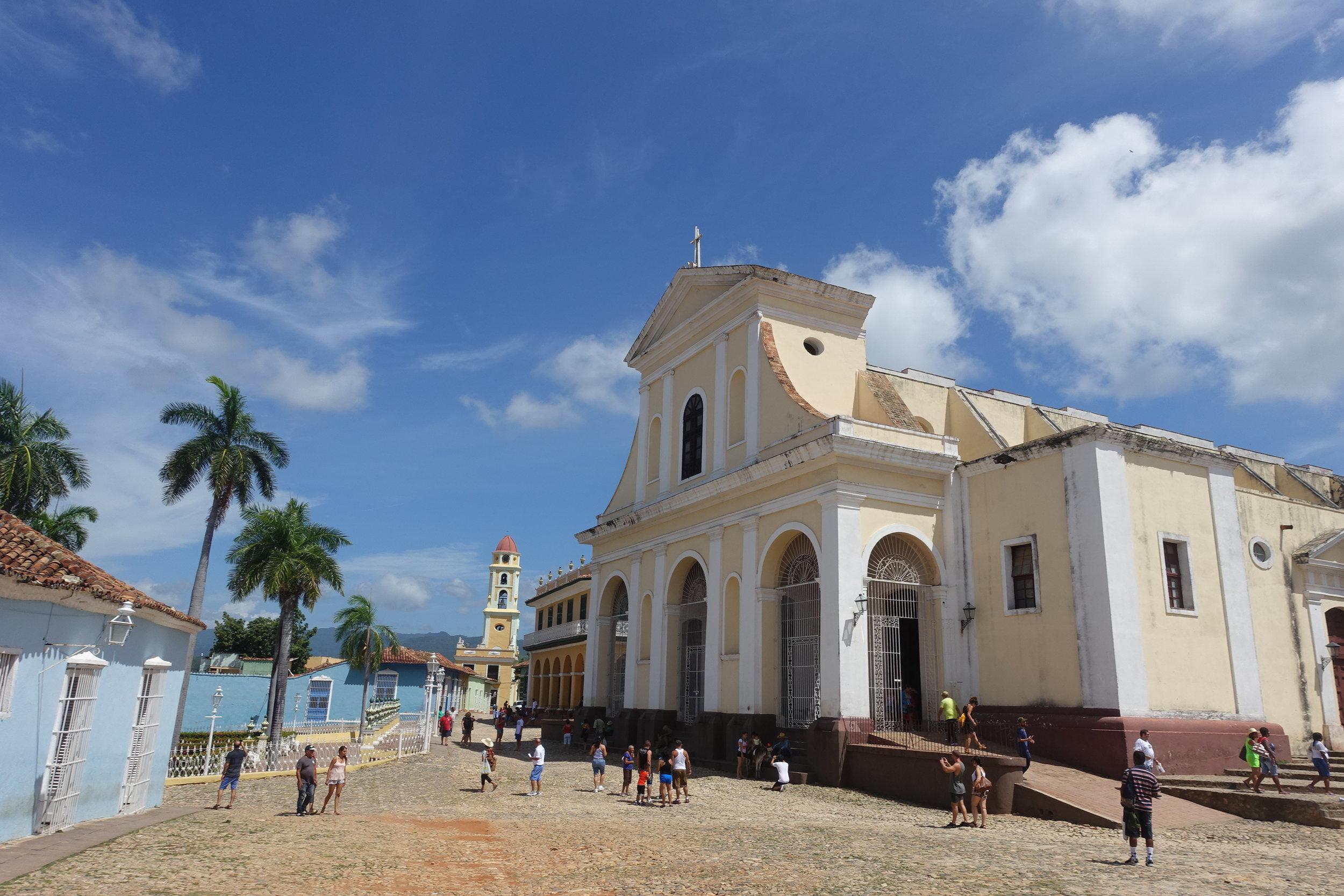 iglesia parroquial de la santisima trinidad