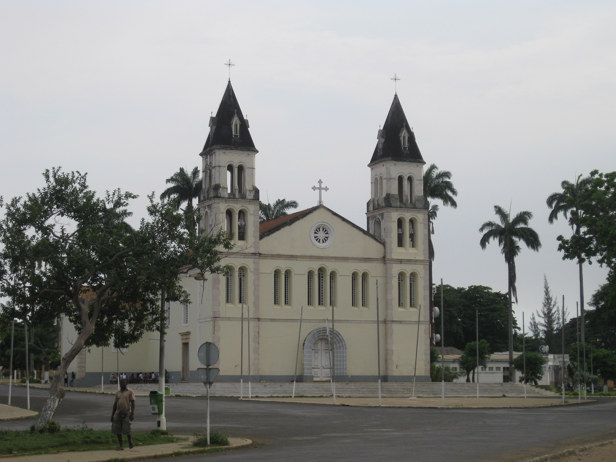 sao tome town's cathedral