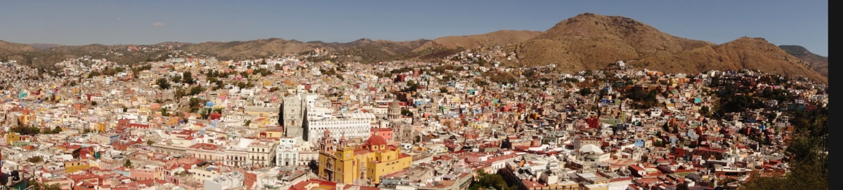 guanajuato from the viewpoint
