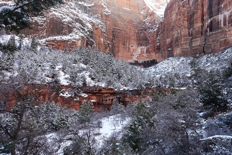 zion canyon - kayenta trail