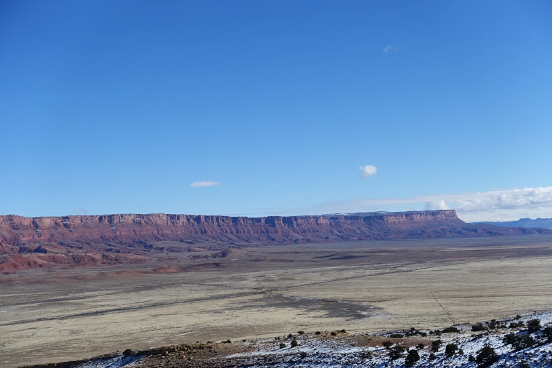 vermillion cliffs - on the road from zion to the grand canyon