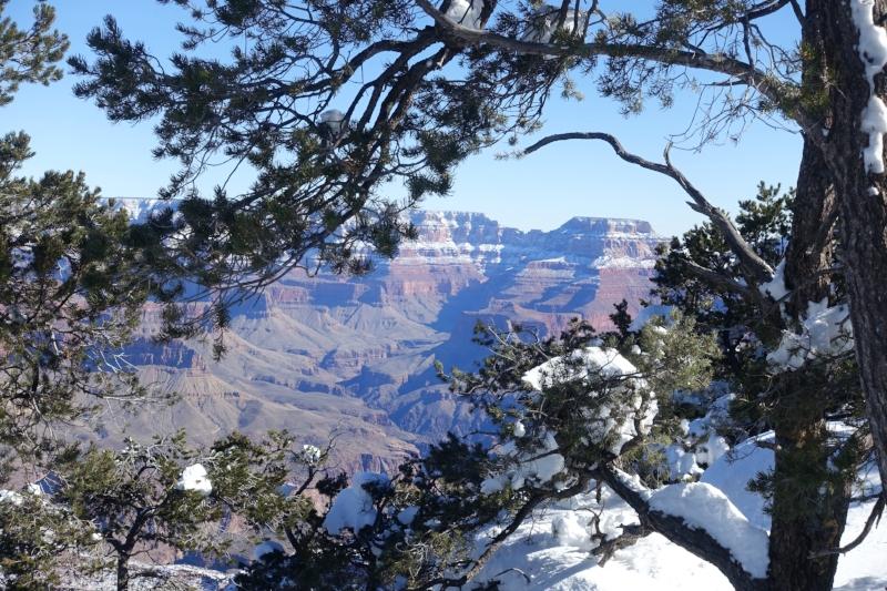 the views from hermits trail are pretty impressive