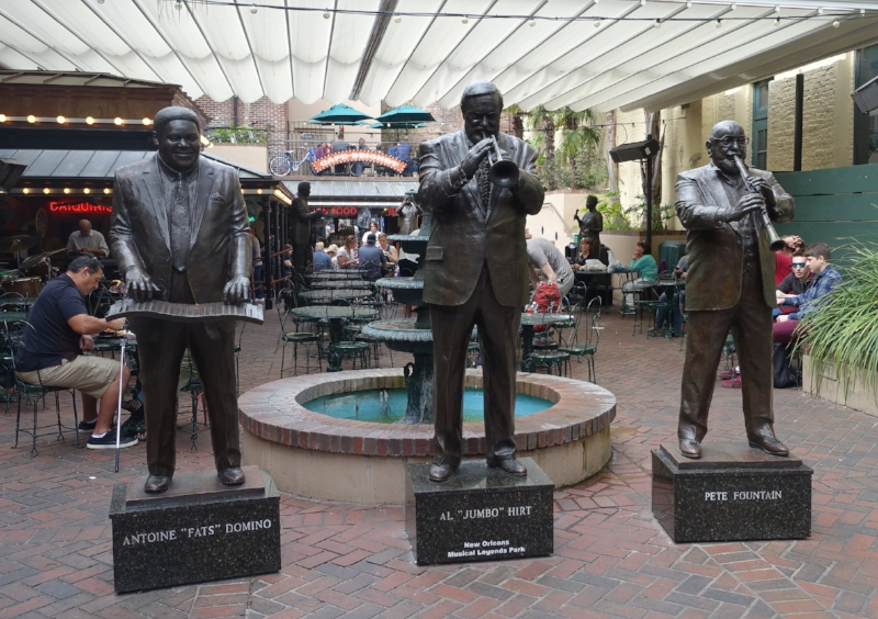 some of n'awlins' music legends