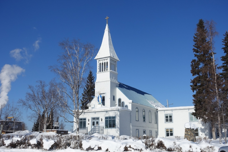 catholic church, fairbanks