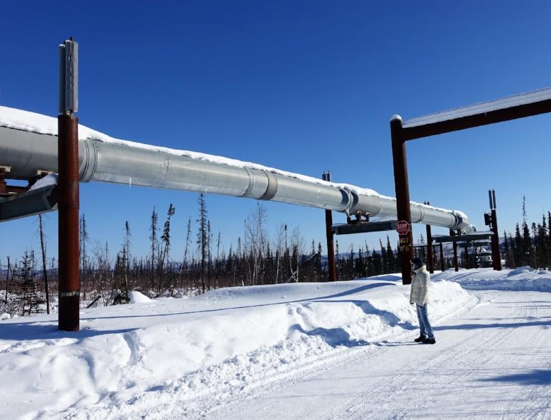 the trans alaska pipeline