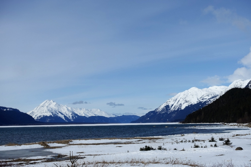 another great vista in haines - note sea ice