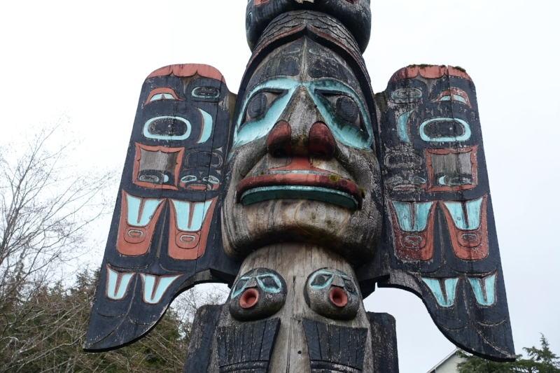 ketchikan is renowned for its native alaskan totems