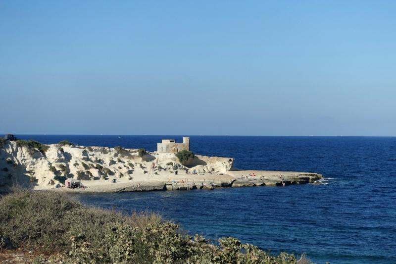 coast near marsascala (eastern malta)
