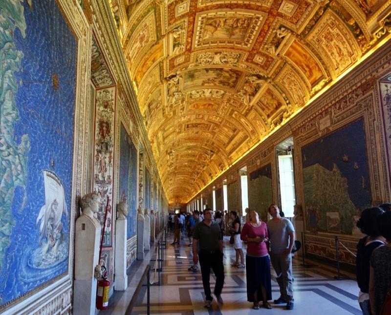 Galleria delle Carte Geografiche (Vatican Map Gallery)