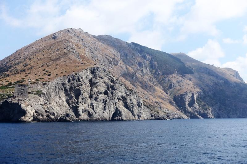 Coast from Sorrento to Positano
