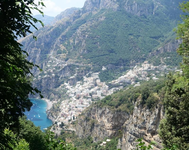 View Back to Positano