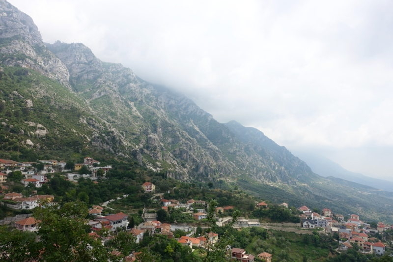 mountainous kruje