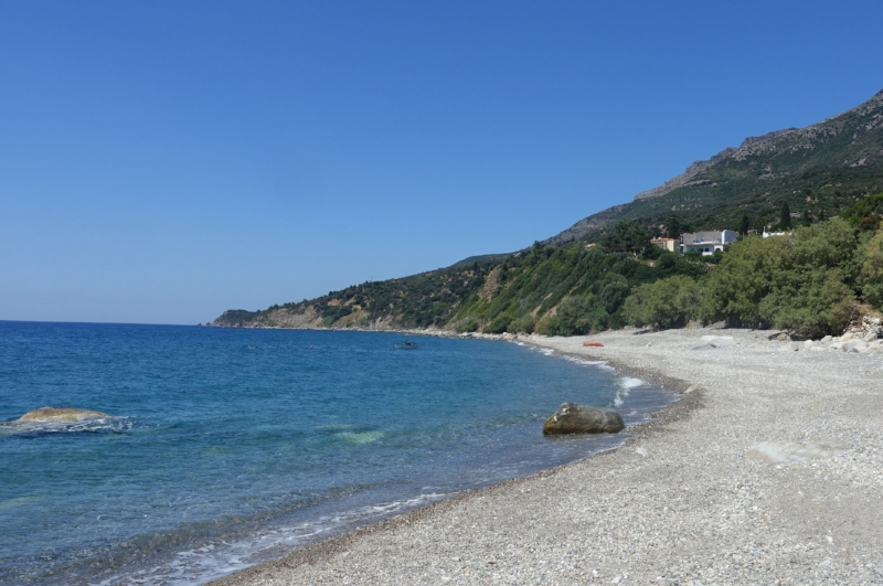 the beach at xilosirtis